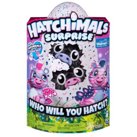 HA007 ฟักไข่แฝด ฮาจิมอล Hatchimals-Zebra