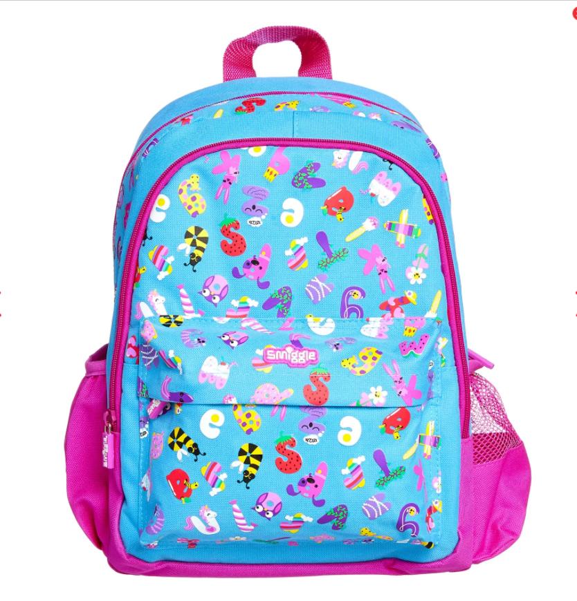 SMB006 กระเป๋าเป้สมิกเกิ้ล Smiggle Junior bubbly backpack