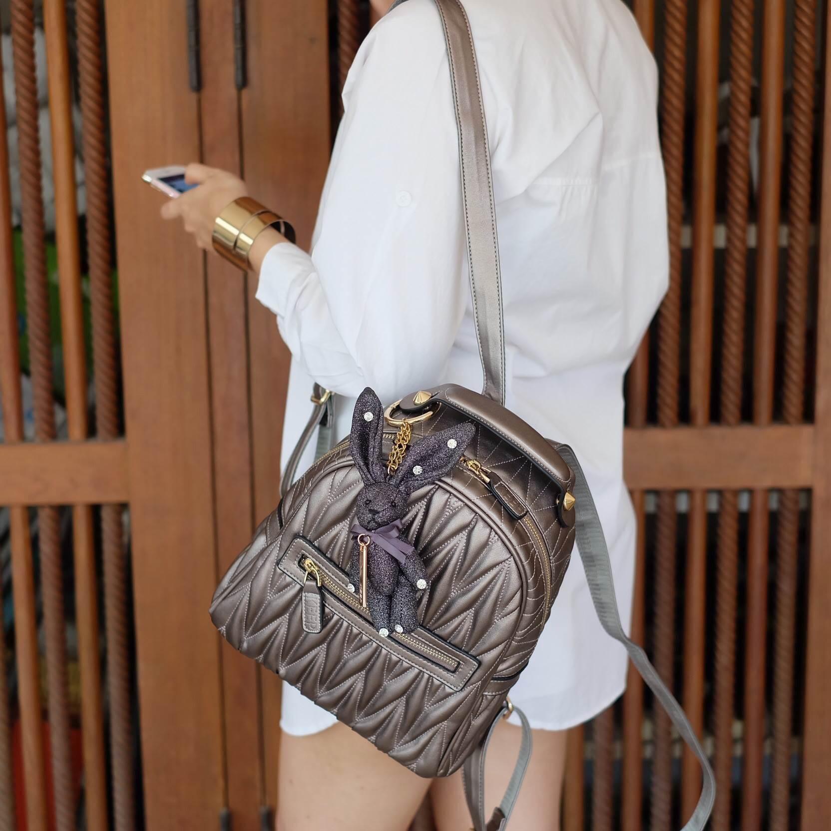 KEEP Genuien Leather Mini Backpack 2017