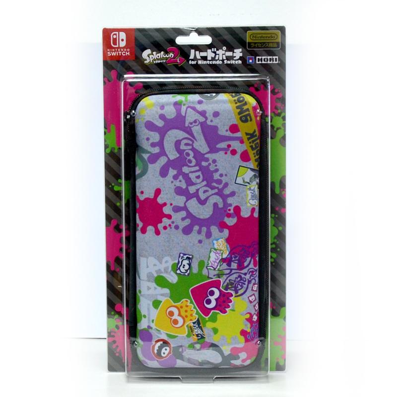 Splatoon 2 Hard Pouch for Nintendo Switch (Graffiti) ยี่ห้อ Hori ของแทั จากญี่ปุ่น (NSW-059)