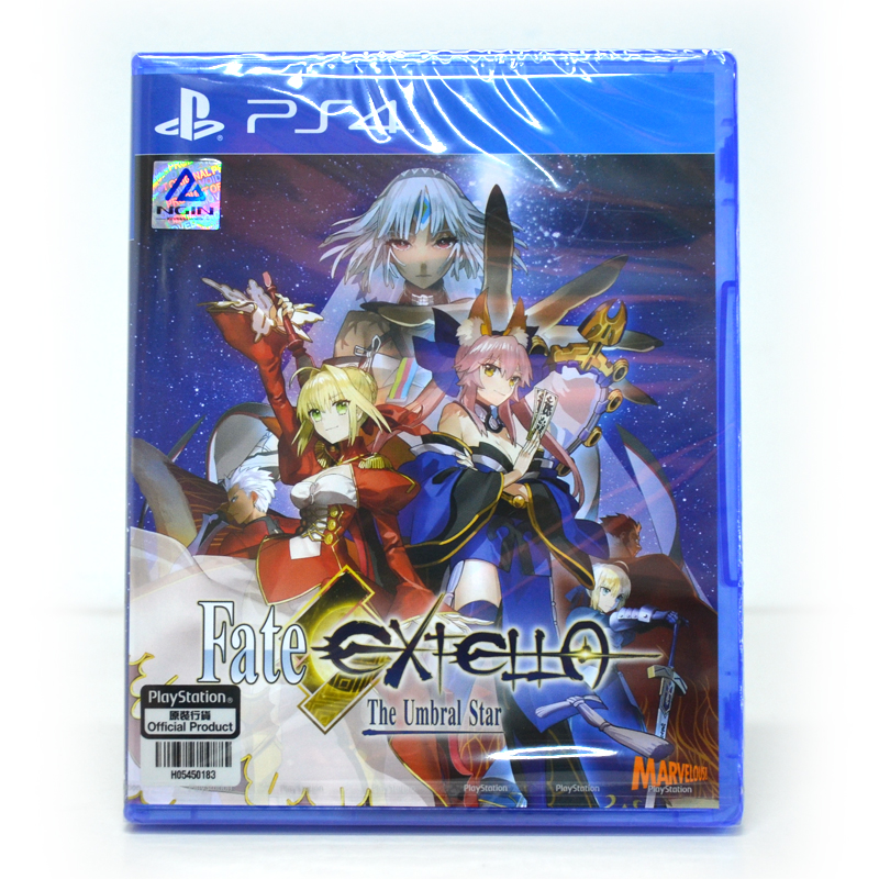 PS4™ Fate/Extella: The Umbral Star Zone 3 Asia / English