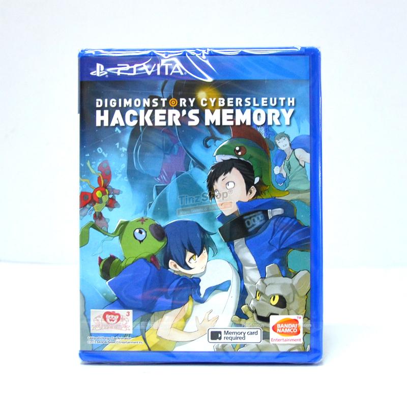 PS Vita™ Digimon Story Cyber Sleuth: Hacker's Memory Zone 3 Asia/ English ราคา 1690.-