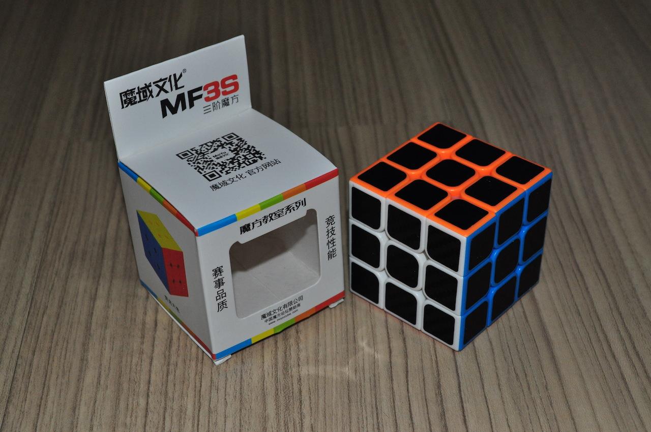 MoFang JiaoShi MF3S 3x3 Carbon Fibre Sticker