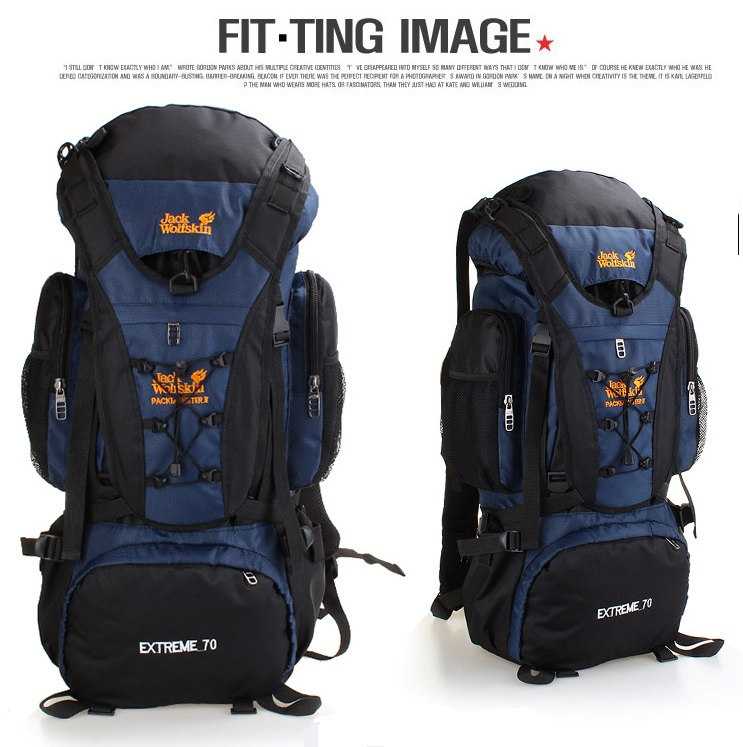Special large backpack 70L