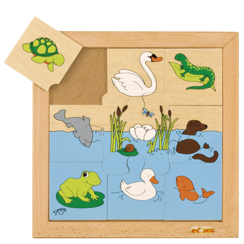 MARINE ANIMAL PUZZLES - ภาพต่อสัตว์ในน้ำ