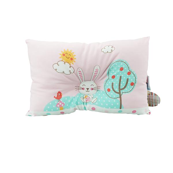 หมอนหลุม Cute Rabbit สีชมพู