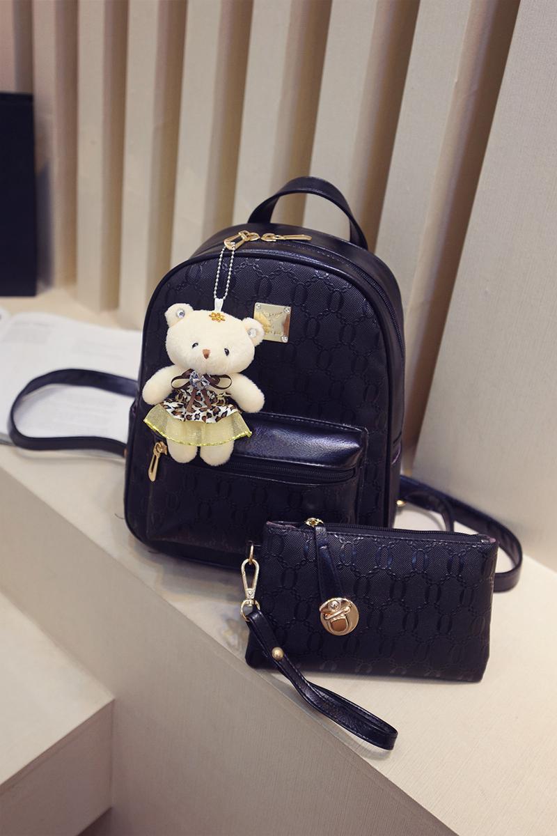 กระเป๋าเป้ผู้หญิงไซส์เล็ก Bing Bing Bag (แถมกระเป๋าสตางค์)