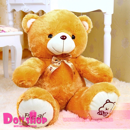 ตุ๊กตาหมีอ้วน Light Brown 0.8 เมตร