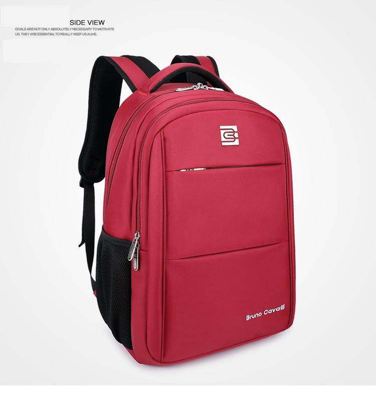 กระเป๋าสะพาย Bruno Cavalli (สีแดง) ใส่ Notebook