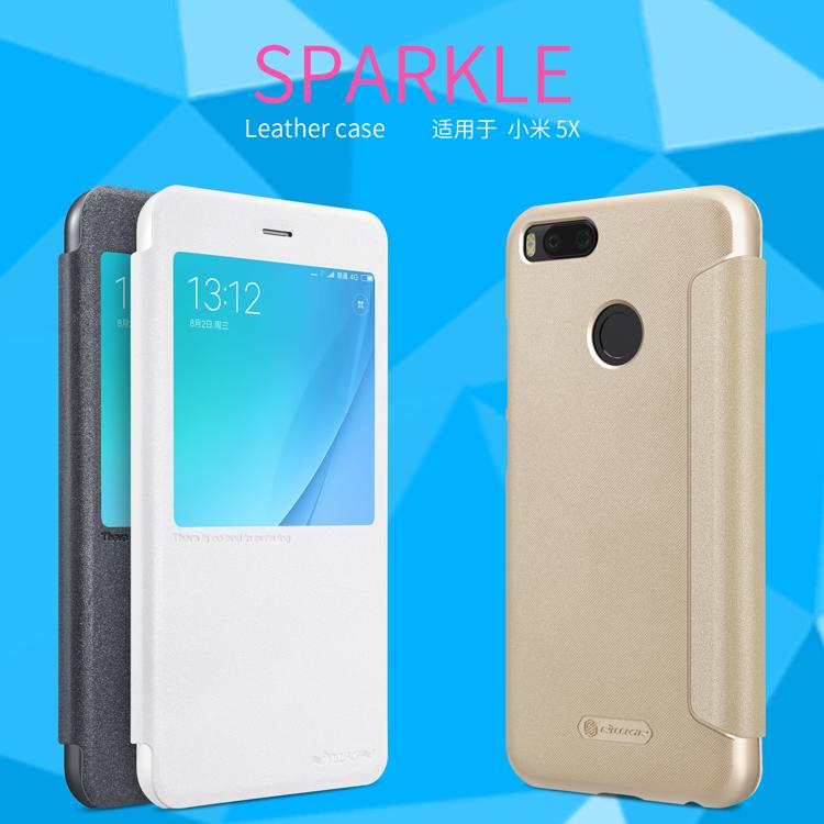 เคสมือถือ Xiaomi Mi A1/Mi5X รุ่น Sparkle Leather Case