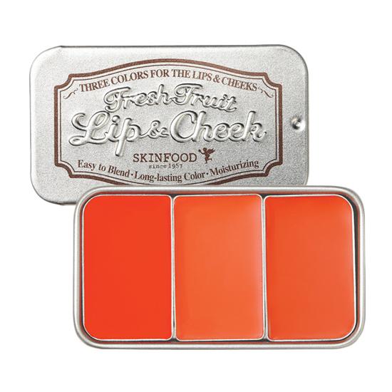 Skinfood Fresh Fruit Lip & Cheek 3 Color 7.5g [ No.1 ]