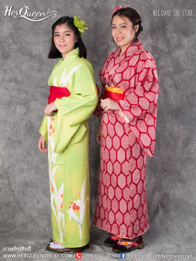เช่าชุดแฟนซี &#x2665 ชุดญี่ปุ่น กิโมโน เช่าเป็นคู่มีราคาพิเศษค่ะ
