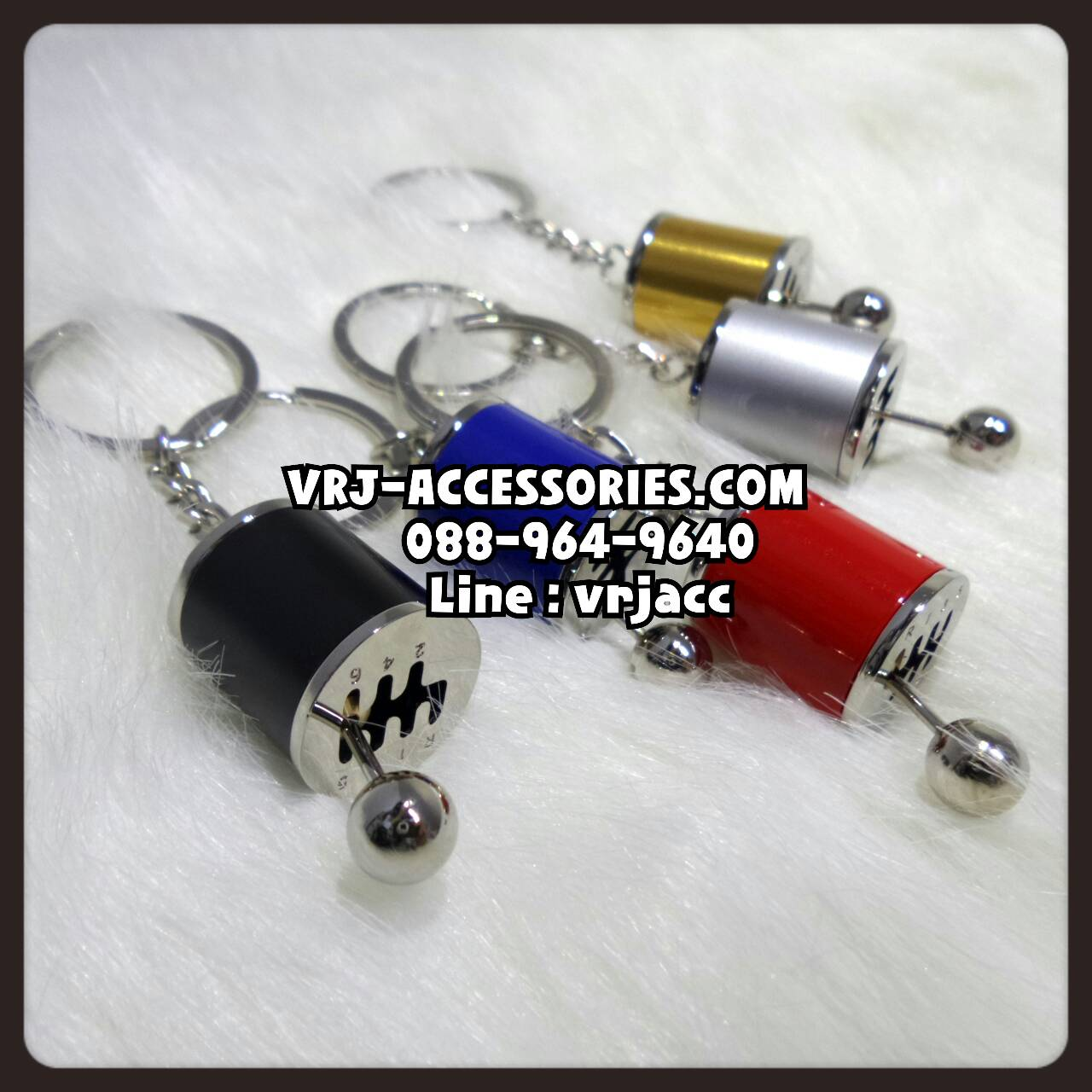 พวงกุญแจ กระปุกเกียร์ พวงกุญแจรถซิ่ง : Keychain – Kear Knob