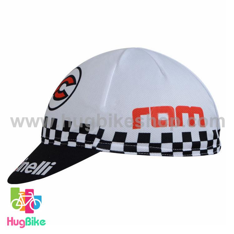 หมวกแก๊บ Cinelli 14 (01) สีขาวดำ