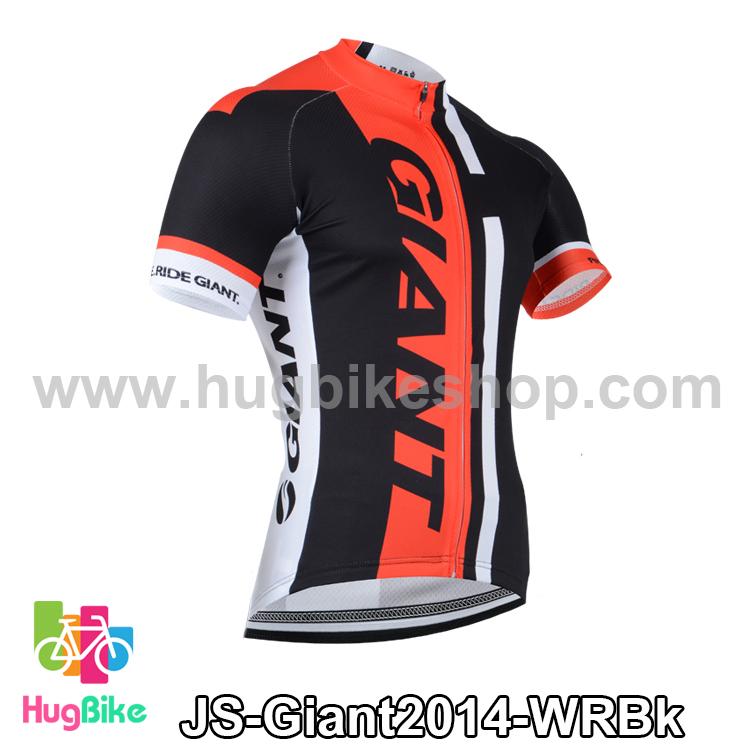 เสื้อจักรยานแขนสั้นทีม Giant 2014 ขาวแดงดำ สั่งจอง (Pre-order)