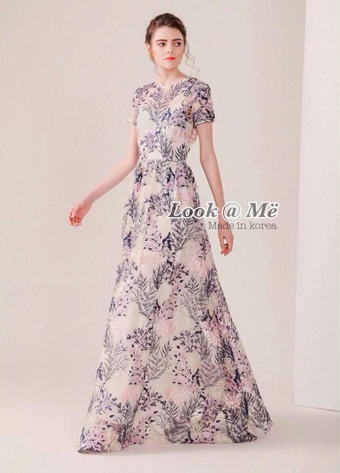Dress ชุดกระโปรงยาว