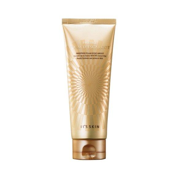 ++พร้อมส่ง++ It's skin Prestige Foam d'escargot Skin 150ml โฟมล้างหน้า ทำให้ผิวชุ่มชื้น ยืดหยุ่น ผิวสะอาด ขาวกระจ่างใสขึ้น