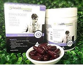 Health Essence Brain Boost 4 in 1 วิตามินบำรุงสมอง 4 in 1 จากประเทศออสเตรเลีย ขนาด 200 เม็ด