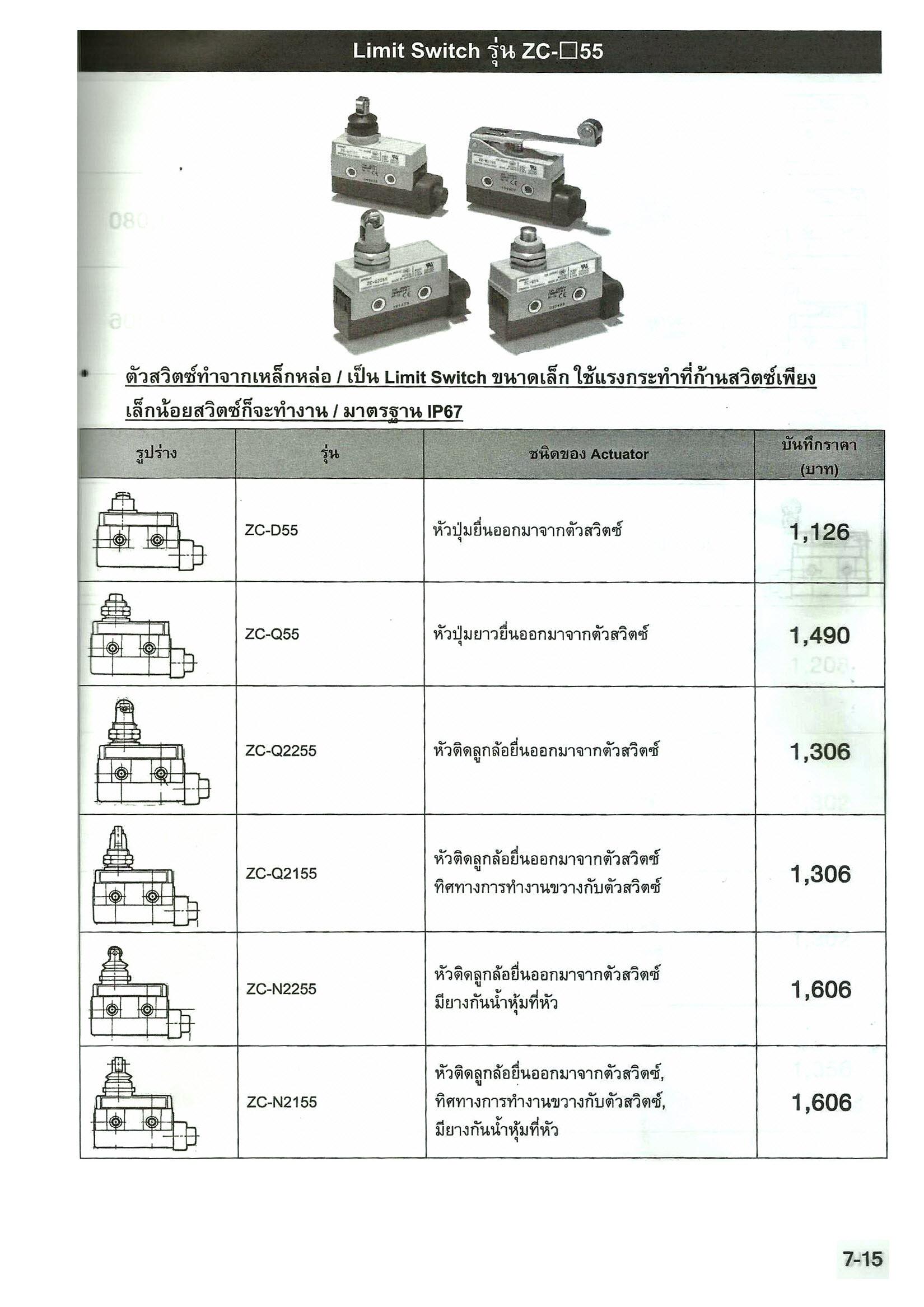 5000 ZC BOX RAIL TRUCK ONLY