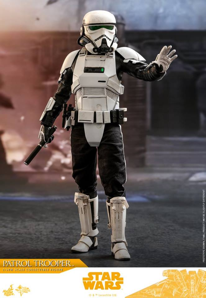 06/07/2018 Hot Toys MMS494 SOLO: A STAR WARS STORY - PATROL TROOPER