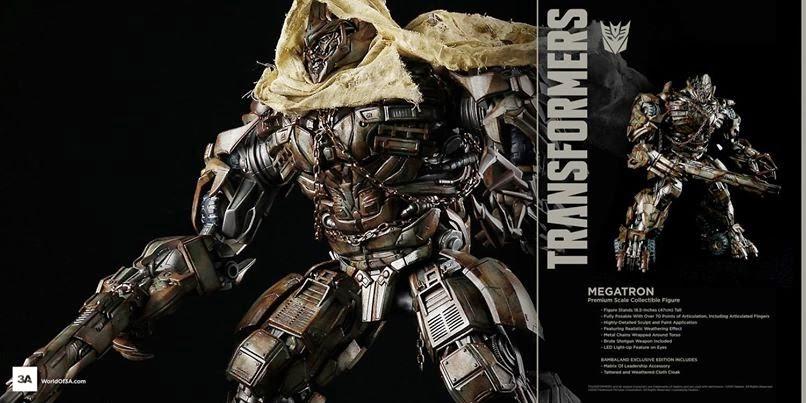 threeA Transformers Magatron EX