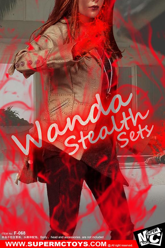 SuperMCTOYS F-068 Wanda Stealth Sets