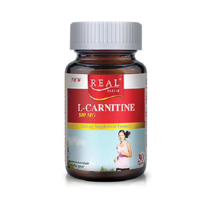 Real Elixir L-CARNITINE 500 mg. 30 capsules