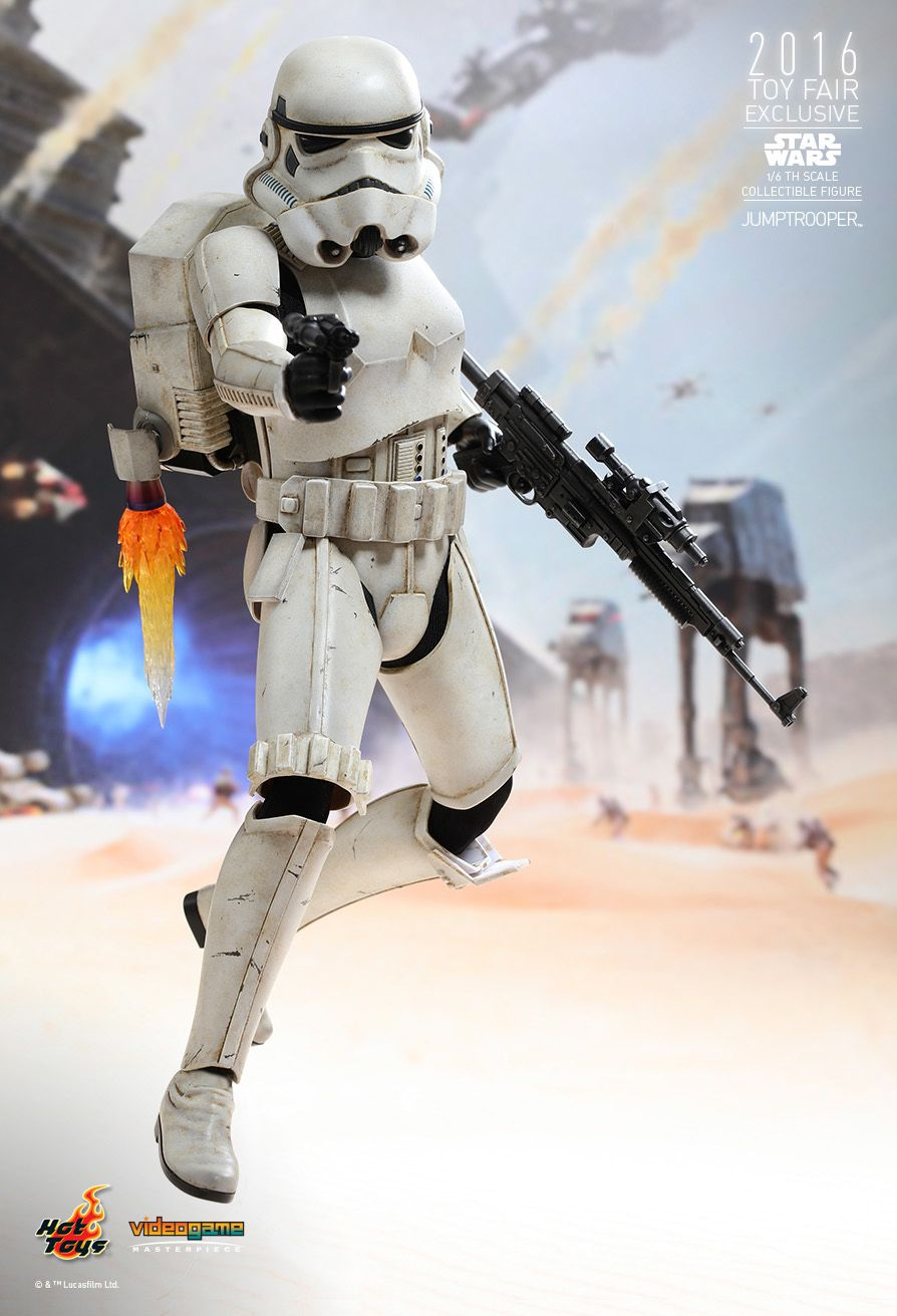 Hot Toys VGM23 STAR WARS BATTLEFRONT - JUMPTROOPER