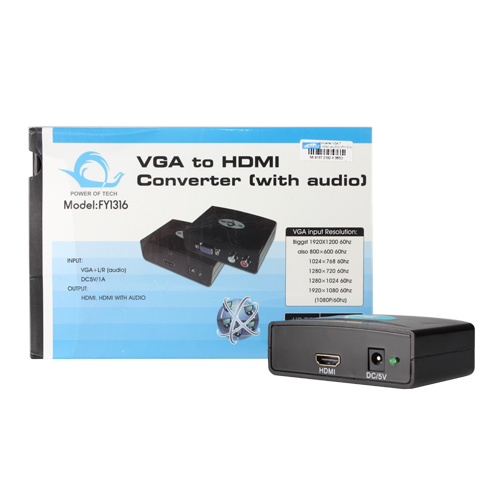 Converter VGA TO HDMI (AUDIO) FY1316