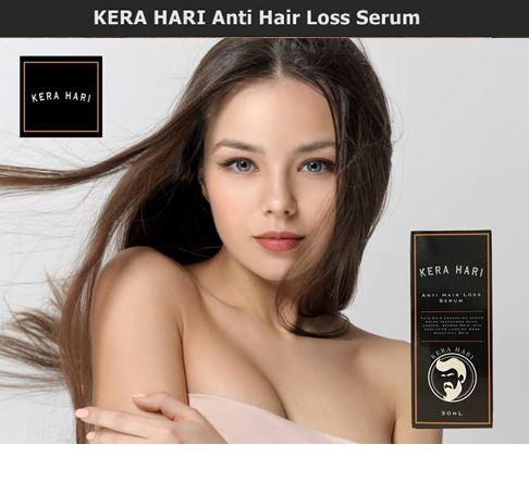 KERA HARI Anti Hair Loss Serum 50ml. เซรั่มบำรุงรากผม ลดการหลุดร่วงของเส้นผม กระตุ้นการเกิดผมใหม่ ช่วยให้ผมดูหนาขึ้น ลดการเกิดผมหงอกก่อนวัย ผลิตภัณฑ์ได้มาตราฐาน และได้รับการขึ้นทะเบียน อย. ,