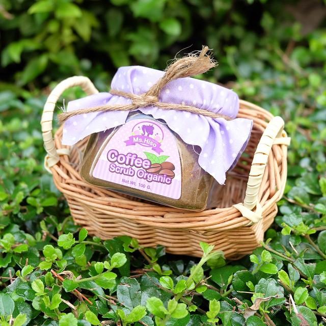 Coffee Scrub Organic By Ms.Hiso สครับกาแฟออแกนิค กระจ่างใสตั้งแต่ครั้งแรกที่ใช้