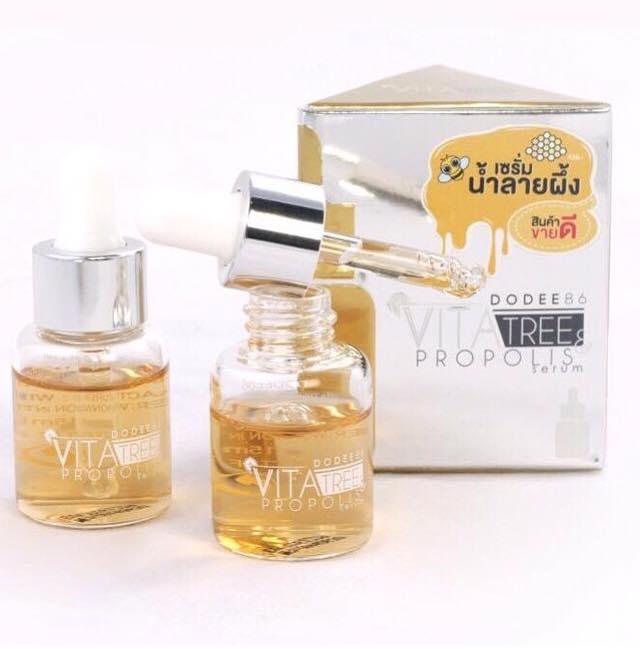 Dodee86 Vitatree Propolis เซรั่มน้ำลายผึ้ง ขาวกระจ่างใส ฉ่ำวาว