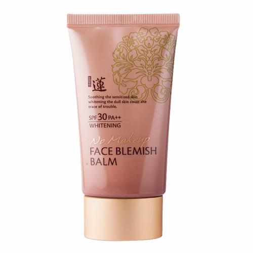 Welcos No Makeup Face Blemish Balm Whitening SPF30 PA++ บีบีครีมเวลคอส สูตรใหม่
