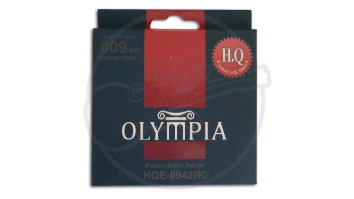 สายกีต้าร์ไฟฟ้าชุด คุณภาพสูง 009-042 ยี่ห้อ Olympia HQE0942