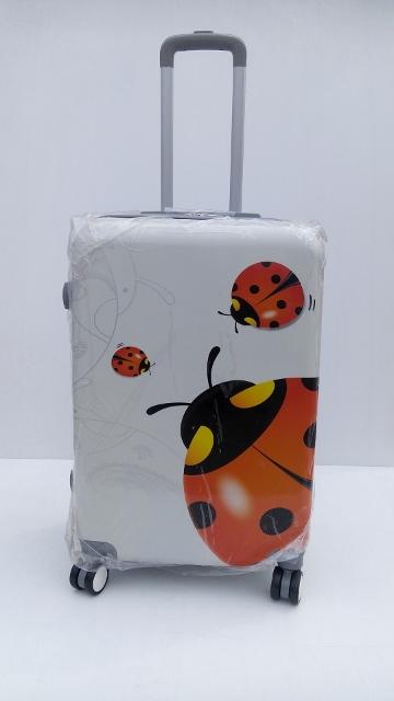 กระเป๋าเดินทาง ล้อลาก ลายเต่าทองแดง ขนาด 20 นิ้ว