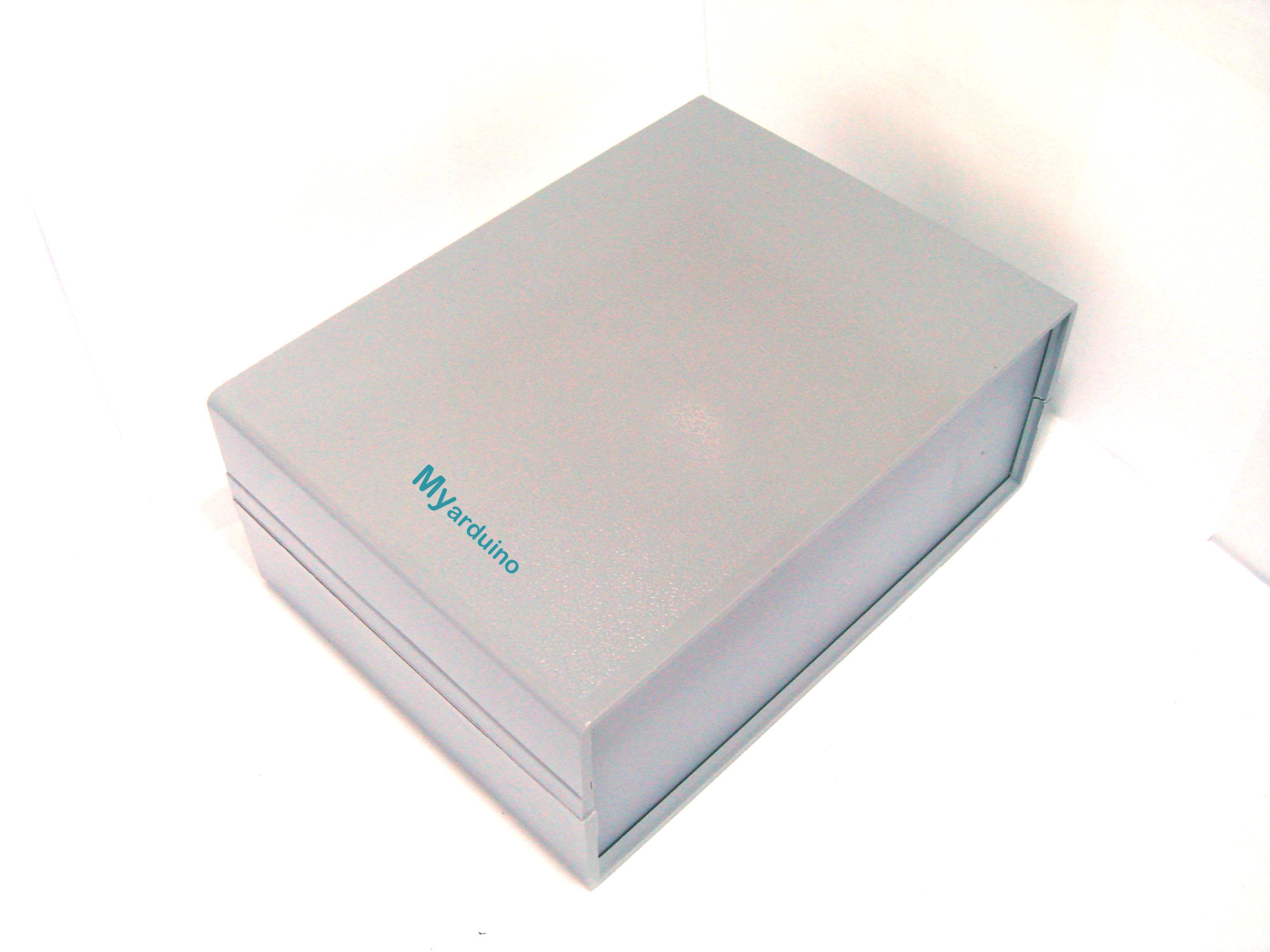 กล่องอเนกประสงค์ สีเทา 165*120*70mm