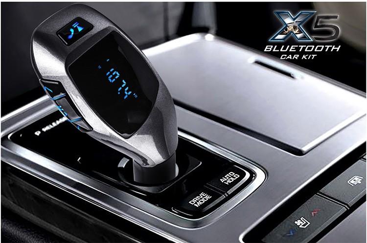 ที่ชาร์จในรถ Wireless Car Kit X5