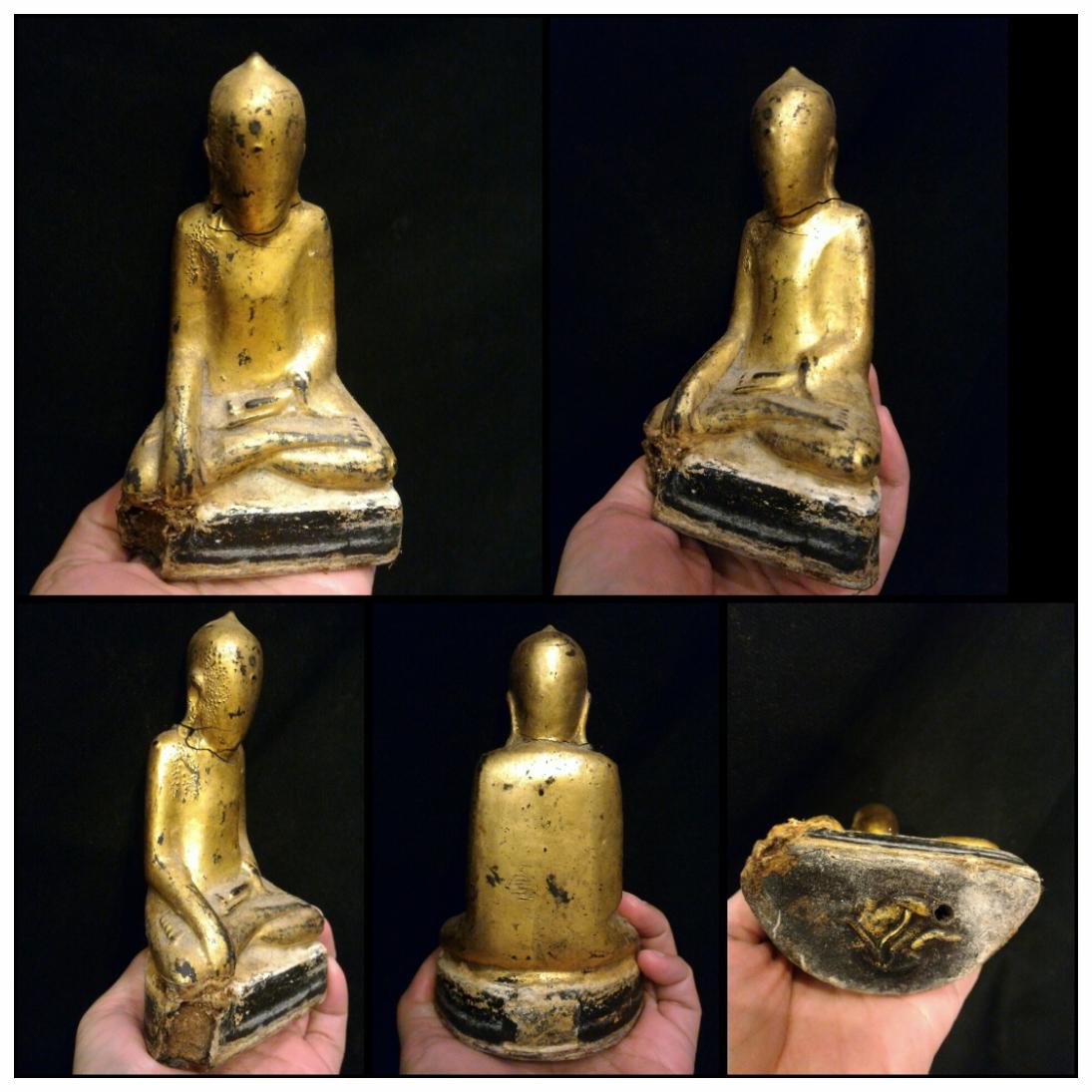 พระบัวเข็มเก่า ศิลปะพม่า