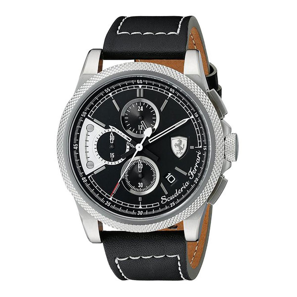นาฬิกาผู้ชาย Ferrari รุ่น 0830275, Formula Italia
