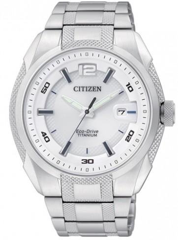 นาฬิกาข้อมือผู้ชาย Citizen Eco-Drive รุ่น BM6901-55B, Super Titanium Japan Sapphire Sports Watch