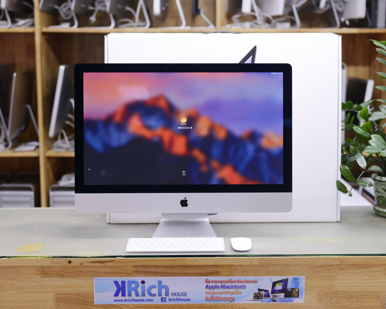 iMac 27-inch (Retina 5K, Late 2015) - Quad-Core i5 3.2GHz RAM 8GB HDD 1TB Fusion Drive AMD Radeon R9 M390 2GB - Fullbox