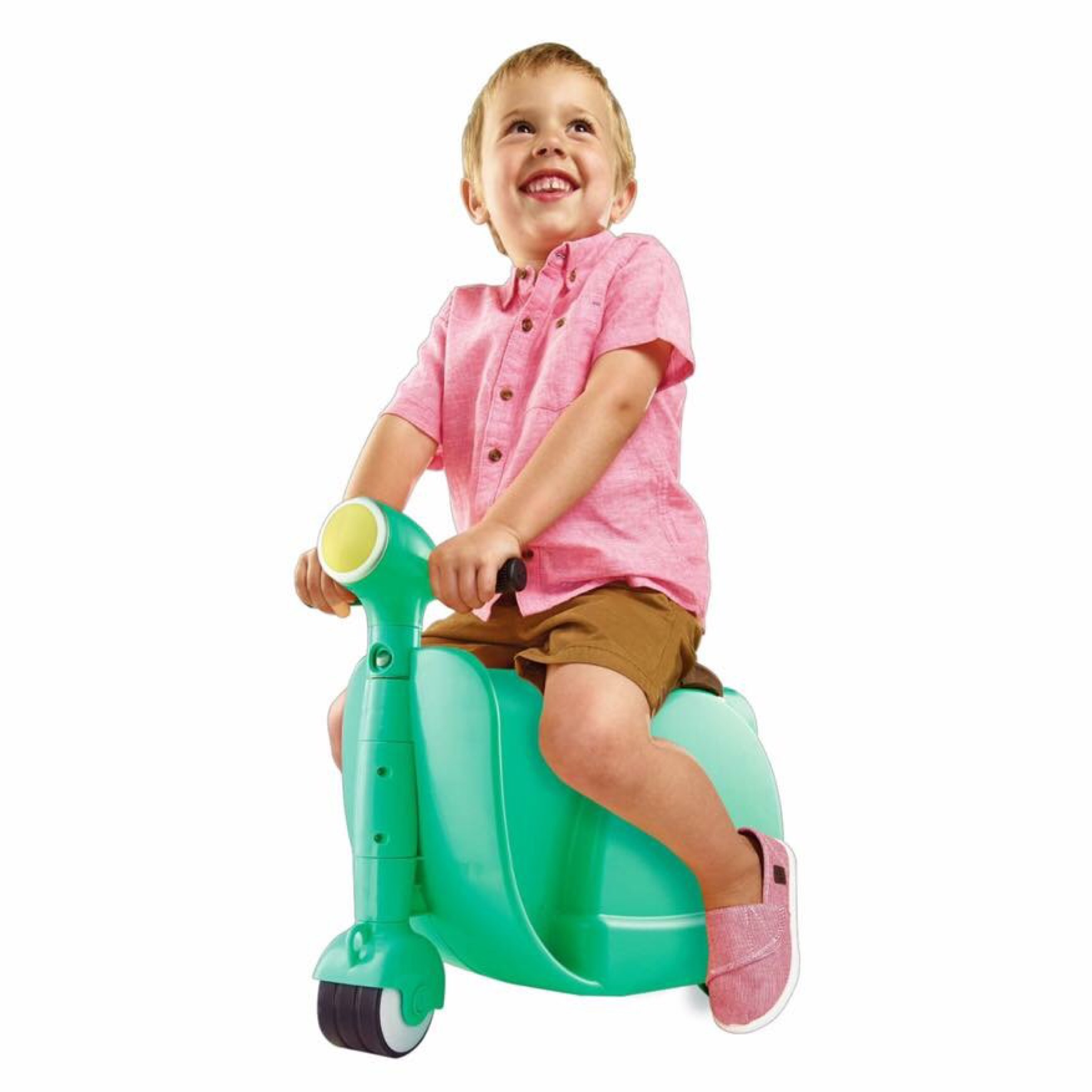 กระเป๋าเดินทางขับขี่ได้สำหรับเด็ก Skoot Children's Ride-On Suitcase (Pistachio)