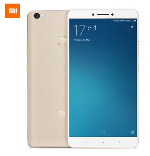 Xiaomi Mi Max 2 หน้าจอ 6.44 นิ้ว แรม4 รอม128GB (สีขาวหลังทอง)