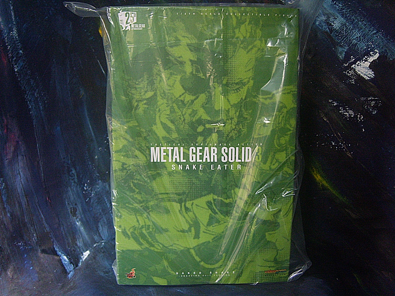 Hot Toys VGM : Metal Gear Solid 3 Snake Eater - Naked Snake (Sneaking Suit Version) NEW