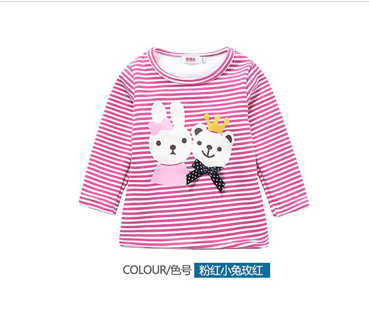 C112-38 เสื้อกันหนาวเด็กสีชมพูหวาน ผ้าเนื้อนุ่มใส่สบาย พิมพ์ลายสวย size 100,150