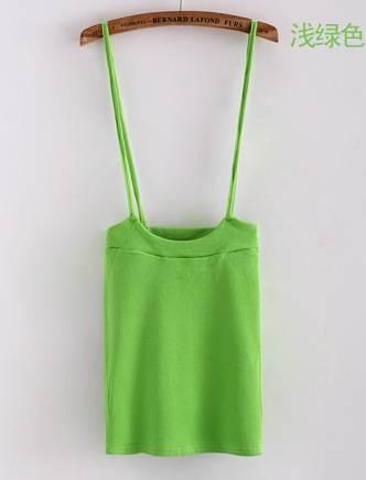 (SALE) เอี๊ยมแฟชั่น ผ้ายืด สีเขียว