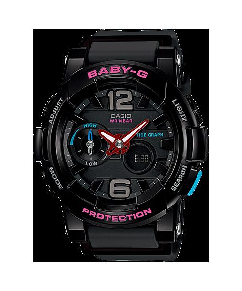 นาฬิกา คาสิโอ Casio Baby-G Standard ANALOG-DIGITAL รุ่น BGA-180-1B