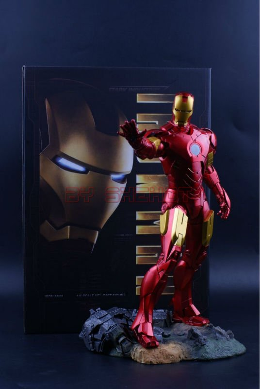 IRON MAN MARK IV (MK4) 1/6TH SCALE Collectible Figurine