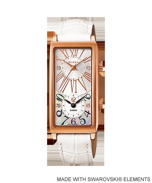 นาฬิกา คาสิโอ Casio SHEEN 3-HAND ANALOG รุ่น SHE-4035PGL-7A