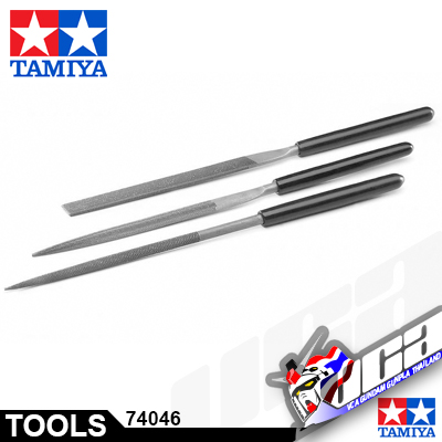 TAMIYA BASIC FILE MEDIUM DOUBLE CUT